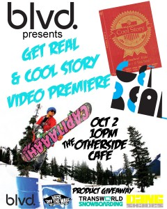 Get Real & Cool Story BLVD Flyer