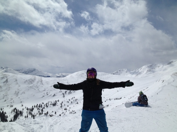 Snowboarding at Copper Mountain 2013
