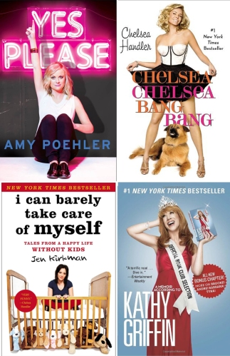 female comedians book covers
